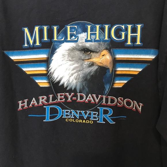 "Harley-Davidson Other - HD ""Mile High"" Denver, CO long sleeve shirt | XL"